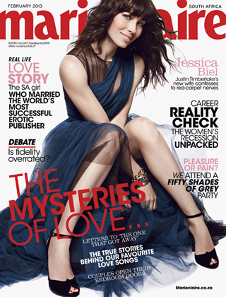 Marie Claire South Africa February 2013